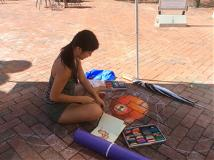 ChalkFest at Reston Town Center