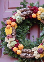 Colonial Christmas wreath