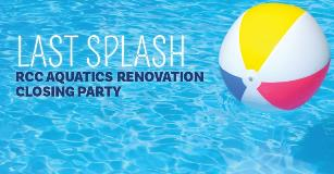 Pool renovation party on December 28