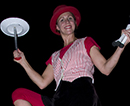 Family Fun Entertainment Series - The One-Woman Wheelie Witty Wacky Silly Suitcase Circus